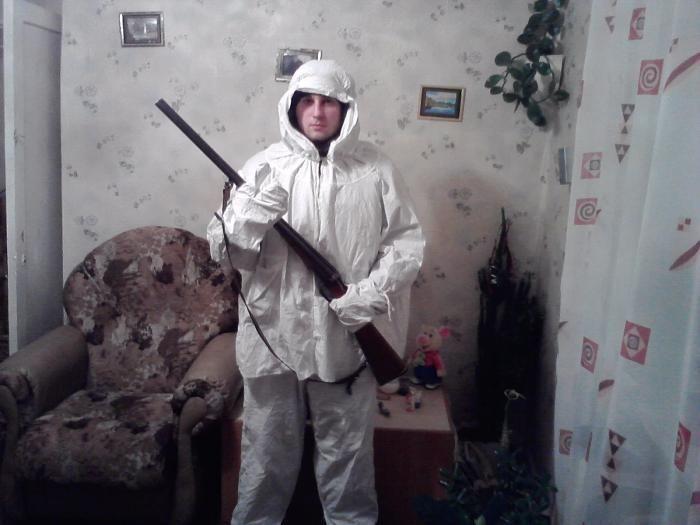 Маскировочный армейский костюм