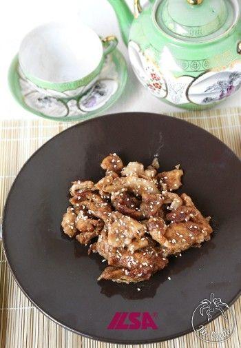 Ricetta Straccetti di pollo con salsa teriyaki