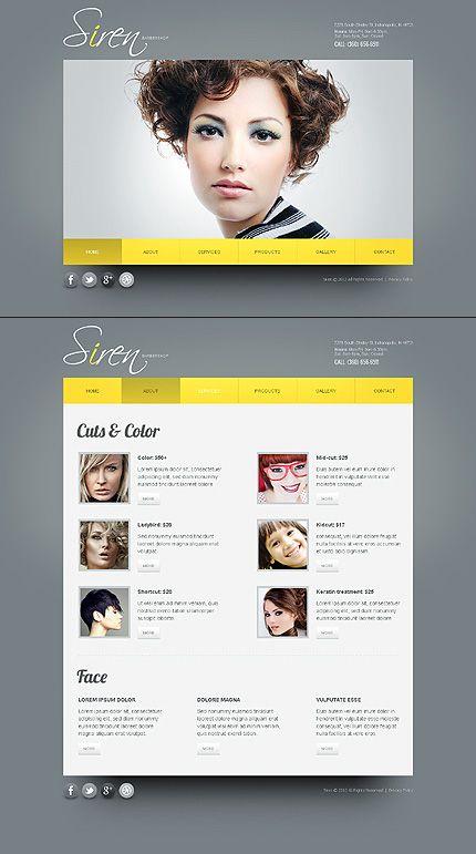 Website Template #38197