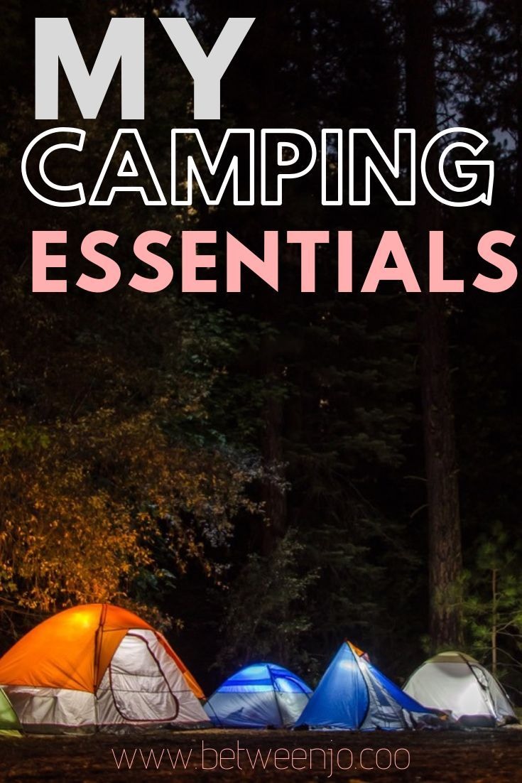 """Things to bring camping. My camping """"essentials"""". Things ..."""