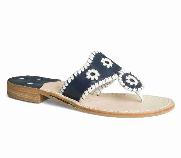 Palm Beach Sandal | Whipstitched Leather Sandals | Jack Rogers