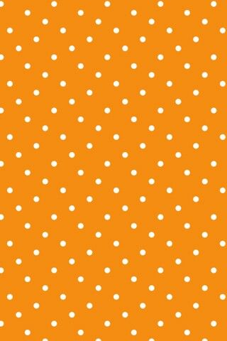 Orange and white polka dot wallpaper | wallpapers | Pinterest