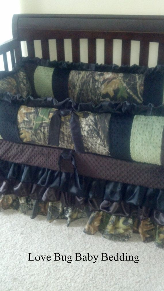 Custom Baby Bedding  Camo by LoveBugBabyBedding on Etsy, $595.00