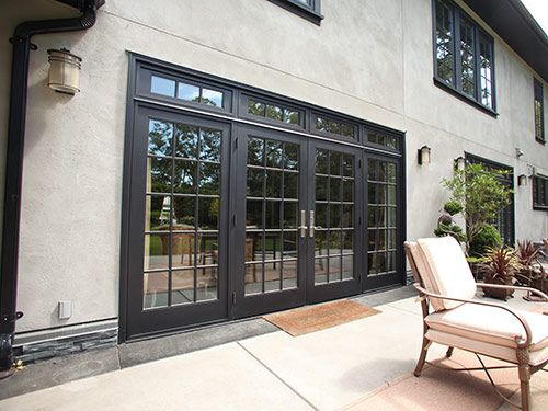 Westeck Aluminum Clad Doors come standard with a Storm Sill System providing superior protection against water & 10 best Aluminum Clad Doors images on Pinterest | Living spaces ...