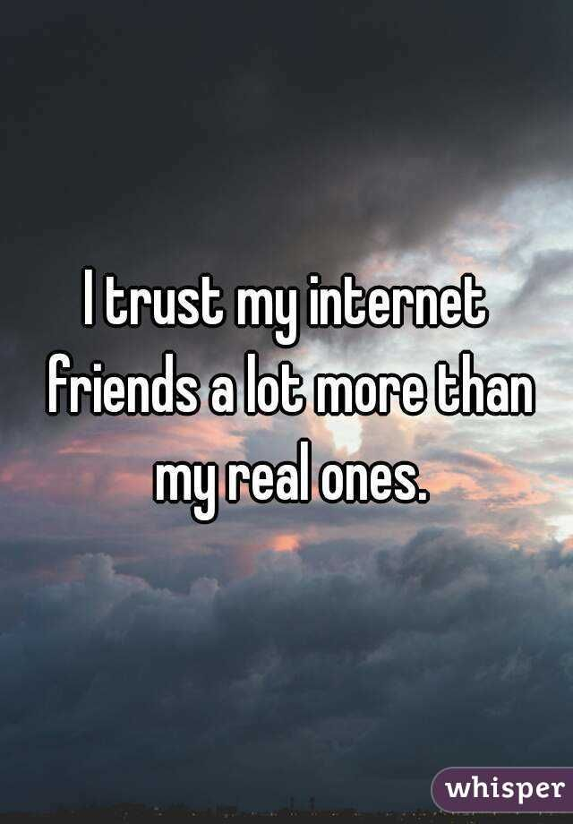 internet friends - Whisper Search