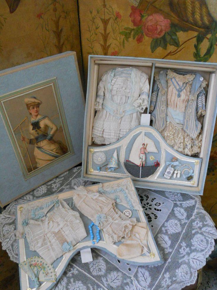 ~~~ Marvelous French Gift-Box for Small French BeBe ~~~ from whendreamscometrue on Ruby Lane