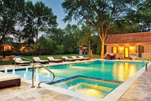 42 best pool decks and patios images on pinterest for Swimming pool patio designs