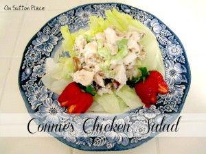 Connie's Chicken Salad - On Sutton Place