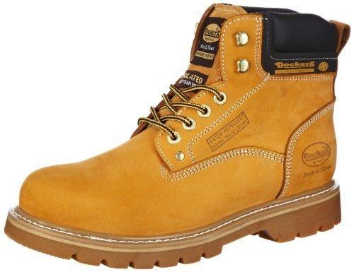Oferta: 37.11€. Comprar Ofertas de Dockers 331102-003093 - Botas de cuero hombre, color beige, talla 42 barato. ¡Mira las ofertas!