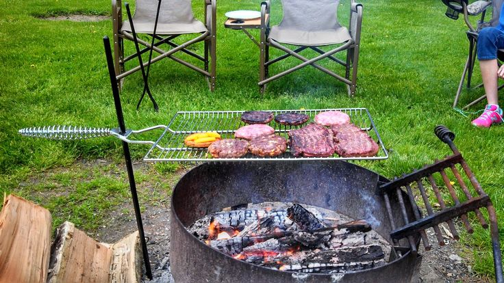 Image result for campfire cooking grate