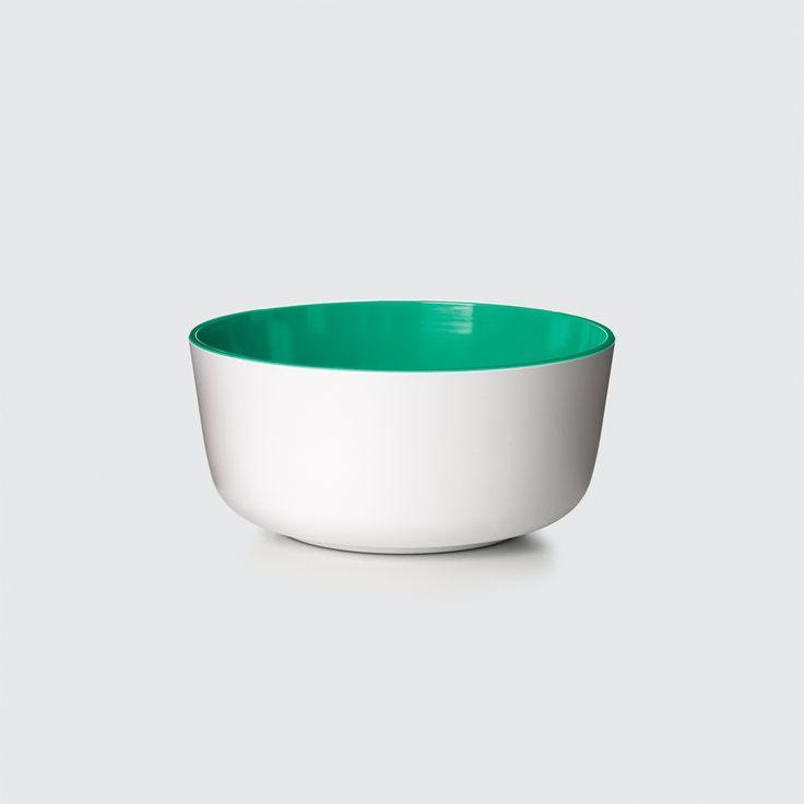 PANTONE Universe, Bowl , Emerald Green, Design by Room Copenhagen