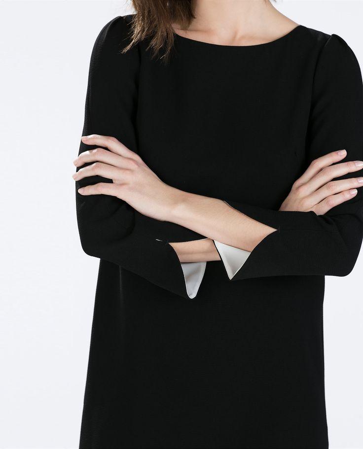 ZARA - WOMAN - DRESS WITH ARM SLITS