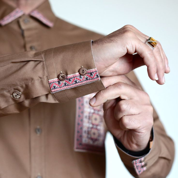 """Chemise Homme Inspiration Oriental """"ISPARTA"""" : Chemises par hilosofia"""