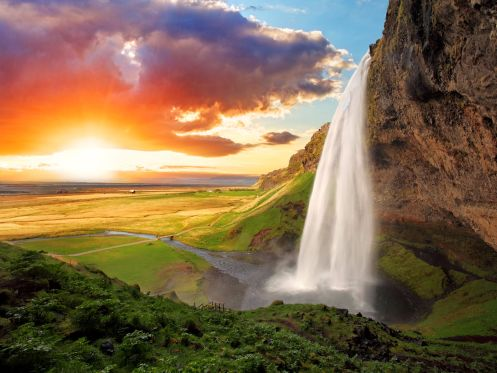 Islande - Seljalandsfoss