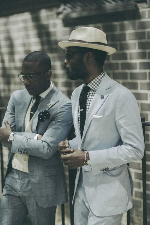 110% Cool, Hats & Suits #menswear