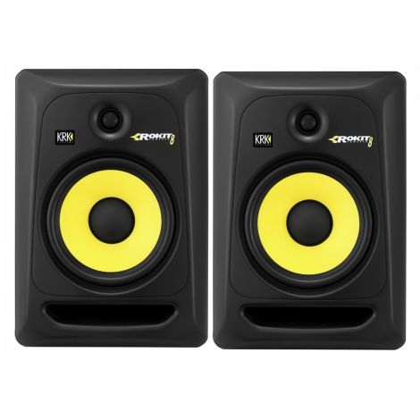 KRK ROKIT 8 RP8G3 Studio Monitor(Pair) @ INR 51292. KRK Systems is one of the world's most respected manufacturers of studio reference monitors. In their state of the art design facility, KRK engineers create products that deliver natural and balanced spectral response with low distortion and superior imaging.