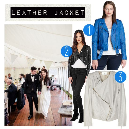 Hot Fall Cover-ups: LEATHER JACKET