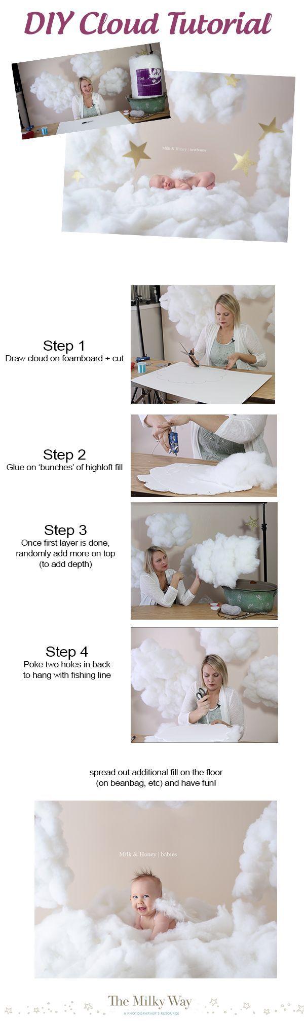 Fun DIY Cloud Tutorial (takes less than 20 minutes!) - themilkway.ca: