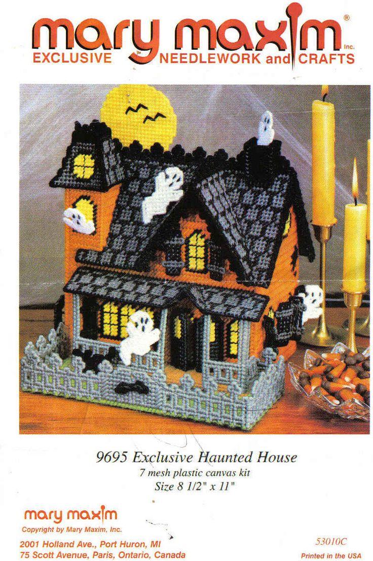 Mary Maxim Haunted House 1/14