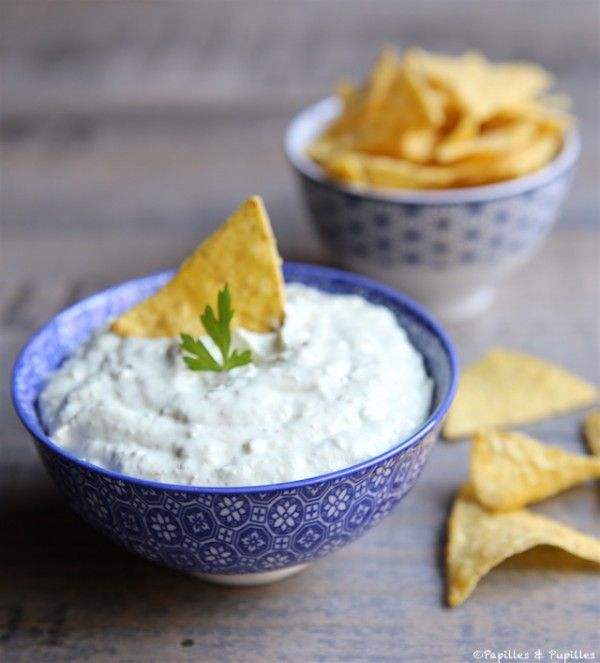 Recette d'un Guacamole (avocat et fromage frais) léger et crémeux