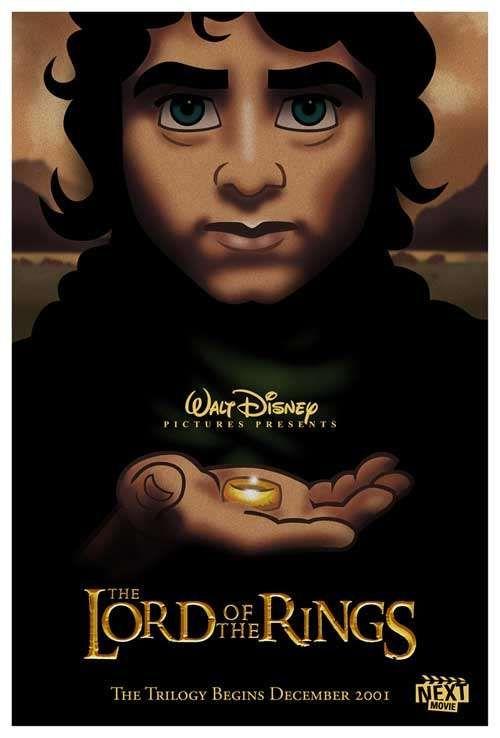 Disneyfied Movie Posters : Disneyfied Movie Posters