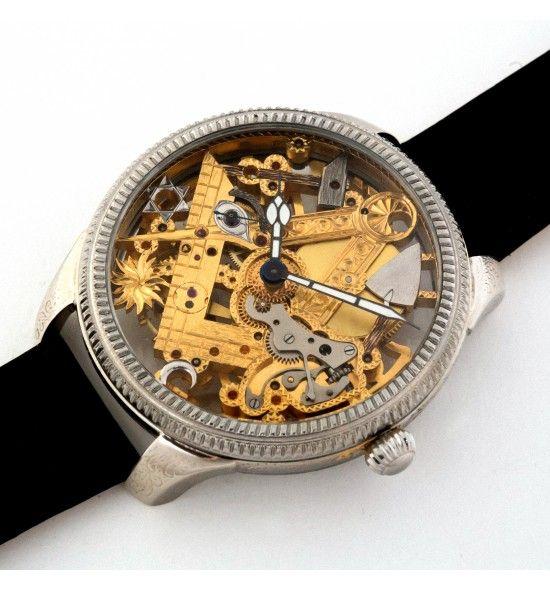 Jaeger LeCoultre Masonic Skeleton Watch
