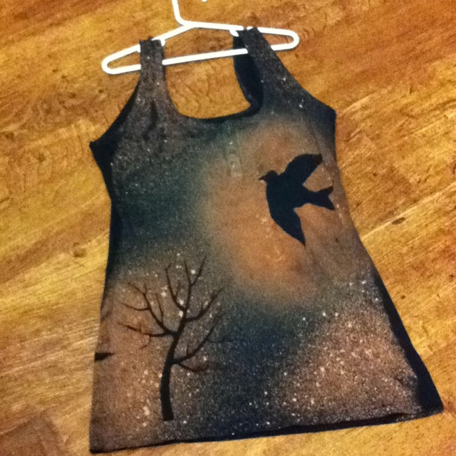 My bleached shirt :), pretty awesome!