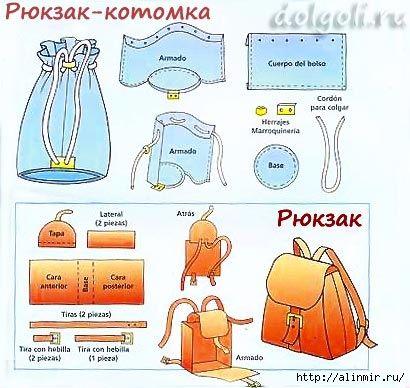 рюкзак котомка (410x388, 119Kb)