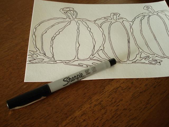 Contour Line Drawing Pumpkin : Images about contour line lessons on pinterest