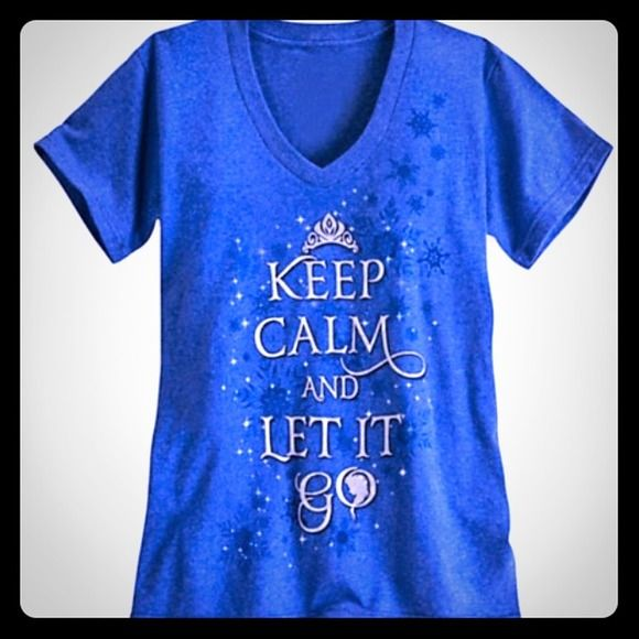 ❄️ISO Disney Store Frozen Ladies Shirt Size L!!!❄️ Desperately in search of this shirt!!!...Please help!!!...They r $9.99 right now on clearance so check your local Disney Store for a size L, list, and I will buy it from u!!!⛄️⛄️⛄️ Disney Store Tops