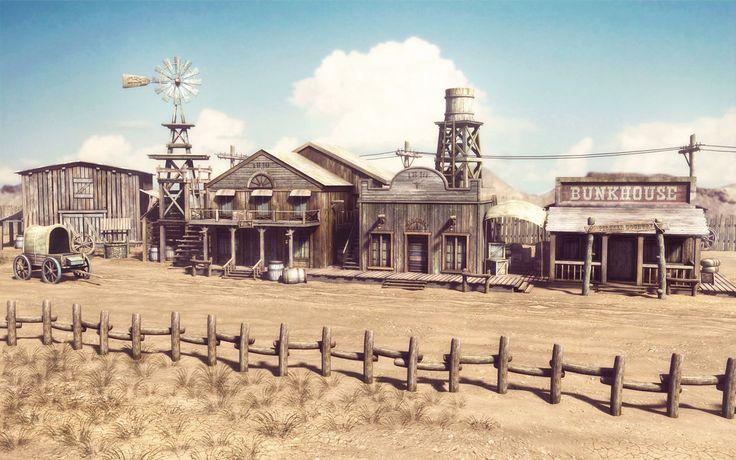 western scene - Google-haku