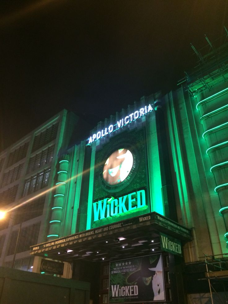Wicked - London, November '14