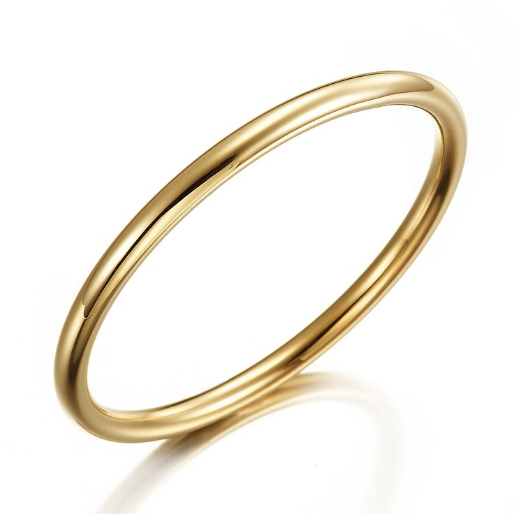 18ct Yellow Gold Layered Golf Bangle | Allure Gold