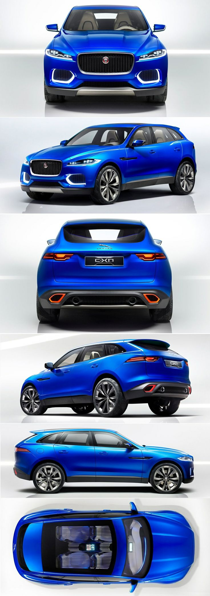 Jaguar C-X17 Concept (2013)