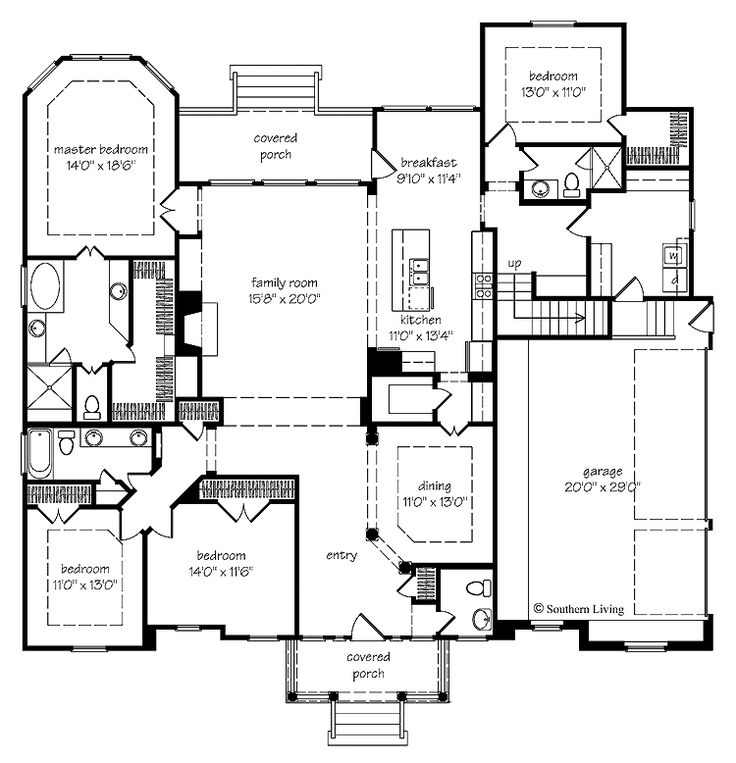 66 best house plans images on pinterest floor plans my for Southern colonial floor plans