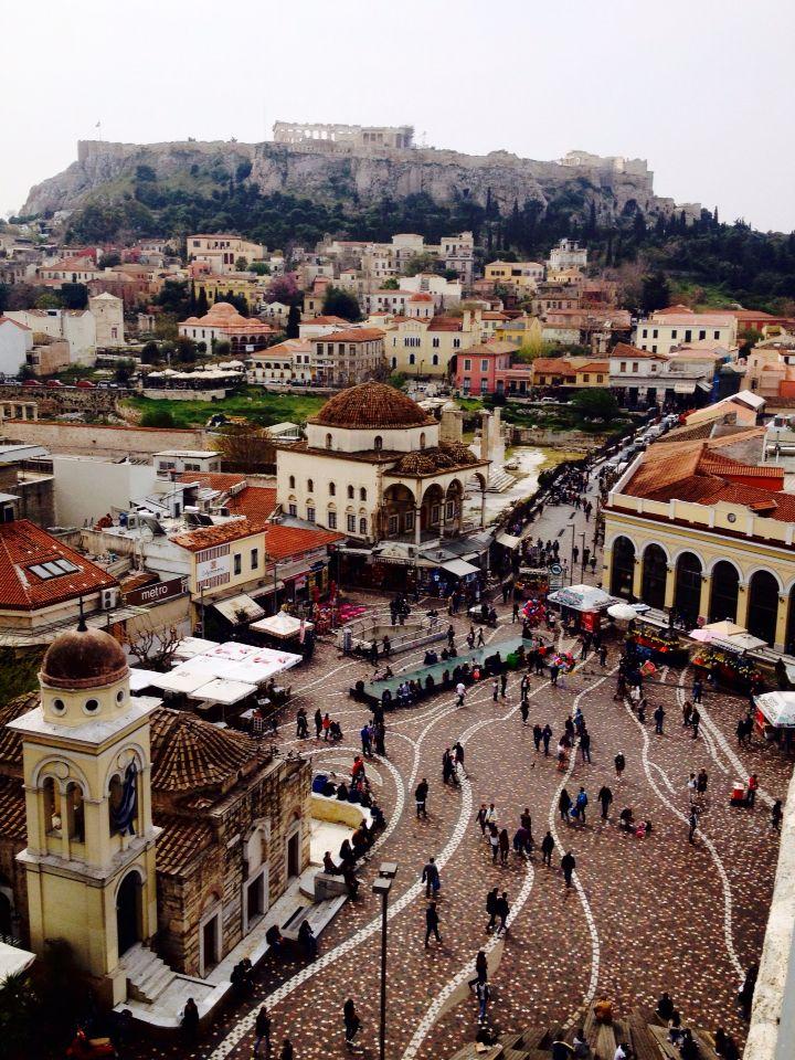 Monastiraki, Athens-Greece