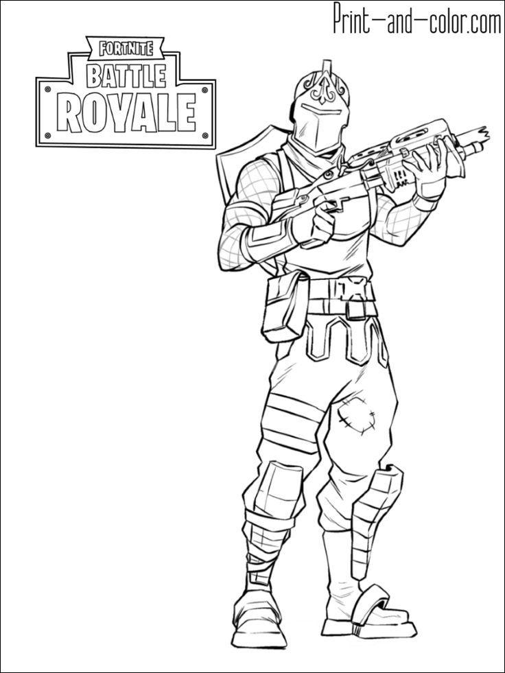 Coloriage Fortnite A Imprimer