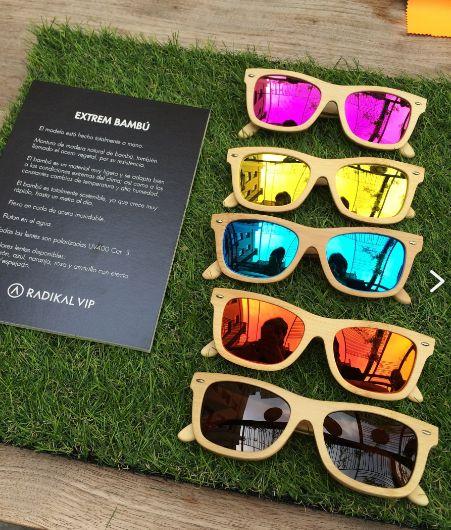 Sunglasses Extrem Bamboo  Gafas de Bambú colores Wayfarer -  www.radikalvip.com