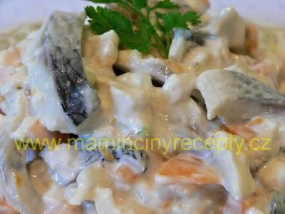 Křišťálový rybí salát