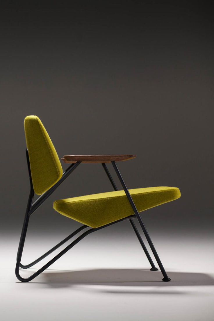 Modern chair design, yellow chair, modern furniture, for more ideas: http://www.bocadolobo.com/en/products/