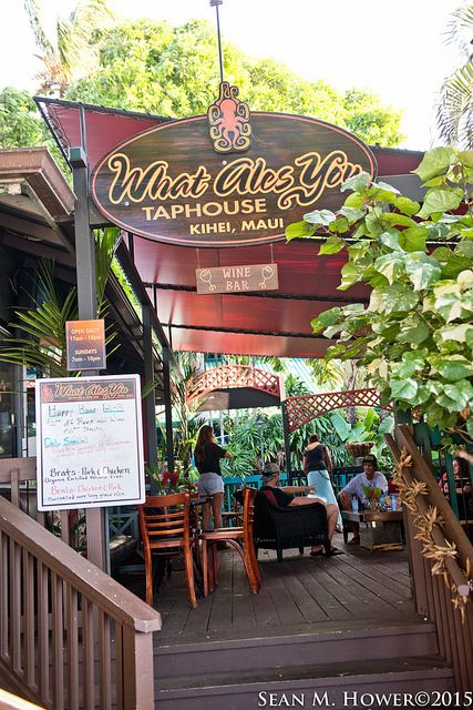 what ales you micro brew beer tap house and wine bar kihei maui restaurant derek braun