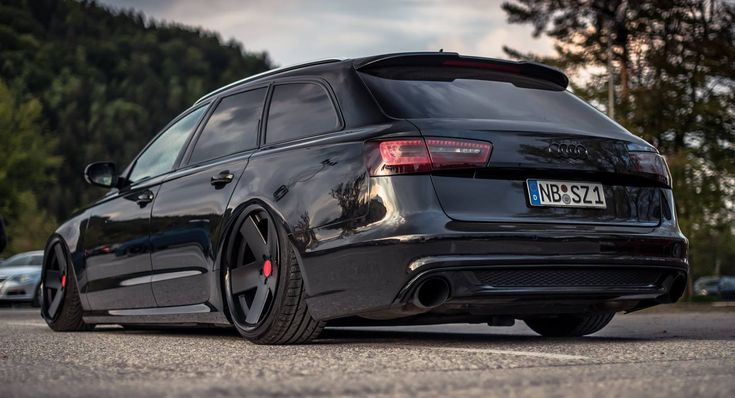 Black On Black Special Tuned Audi A6 !