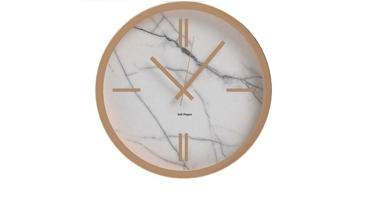Home :: Homewares :: Decorator Items :: Clocks :: Zone Marble Look Wall Clock