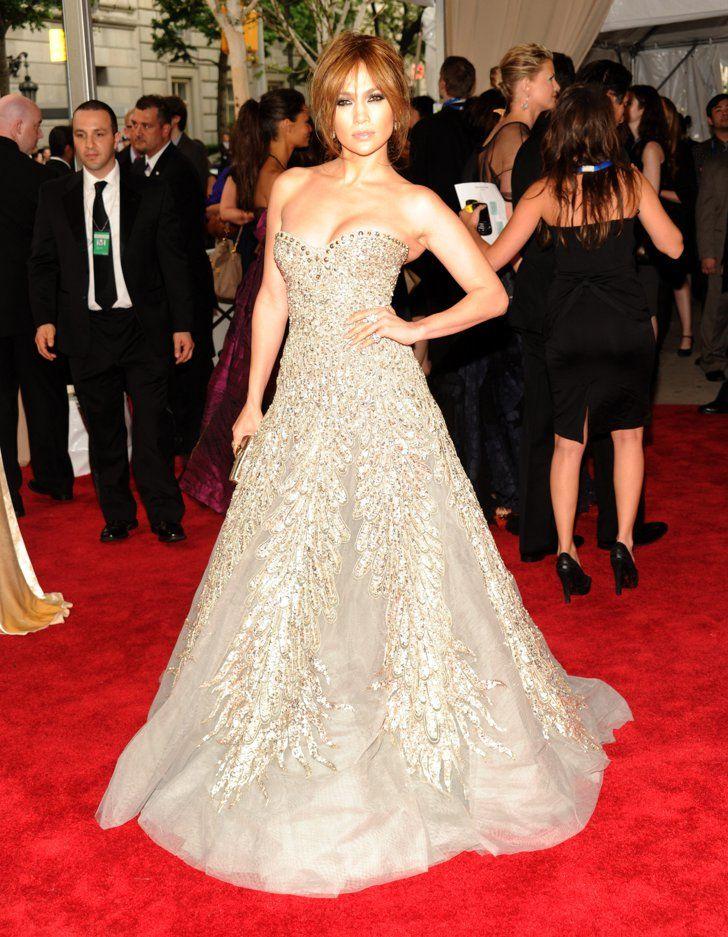 Pin for Later: Les 100 (et Plus) Plus Belles Robes Jamais Vues au Met Gala Jennifer Lopez En Zuhair Murad.