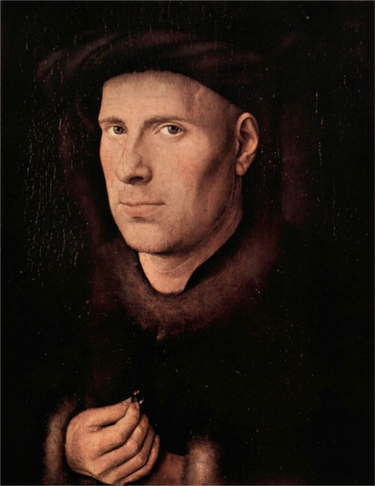 Portrait of Jan de Leeuw by Jan Van Eyck , Jan Van Eyck ,