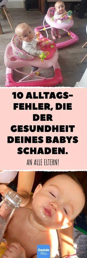 10 Alltags- Fehler, die der Gesundheit deines Babys schaden. #baby #gefahr #kleinkind #kind #saeugling #neugeboren #gesundheit #krank #gefahr #risiko #fehler #spielzeug #spielen #tod #sterben #tot #sterben