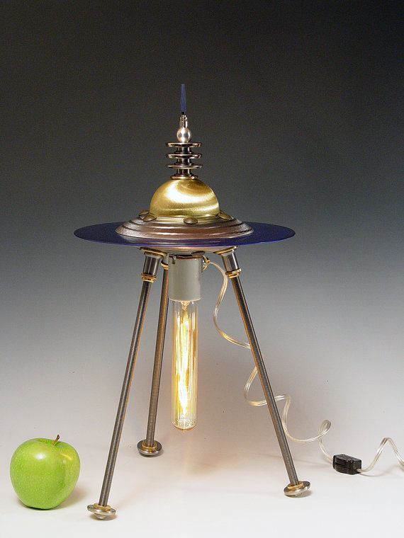 Retro Table Lamp Desk Lamp 158 Flying Saucer By