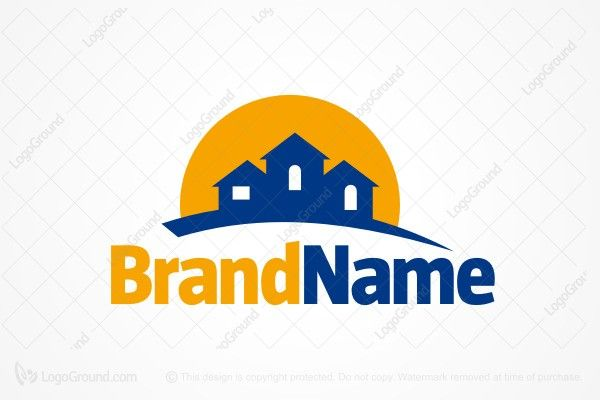 Logo for sale: House On A Hill Logo