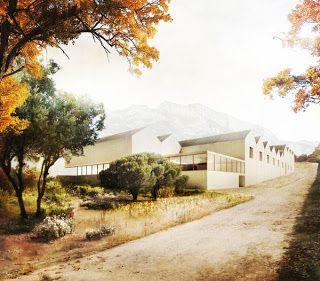 Bodega Benjamin de Rothschild  Vega-Sicilia by Emilio Tuñón Arquitectos (Samaniego, Laguardia, Álava, Spain) #architecture