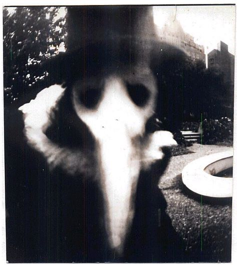 A Black Death plague doctor was a special physician who saw those who had the Bubonic Plague. They wore a beak-like mask which was filled with aromatic items. The masks were designed to protect them from putrid air, which was seen as the cause of infection. CREEPEH.